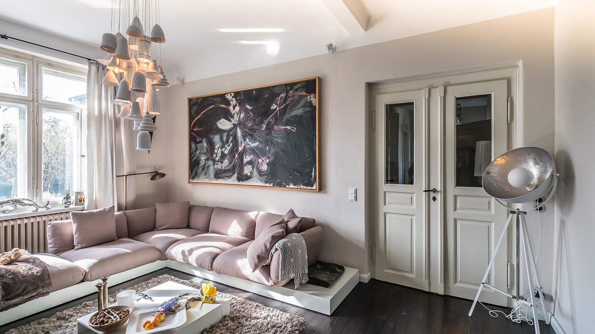 Ess- und Arbeitszimmer / Wohnzimmer
