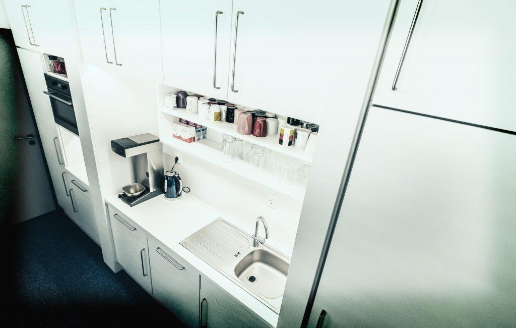 Aufenthalt und Küche